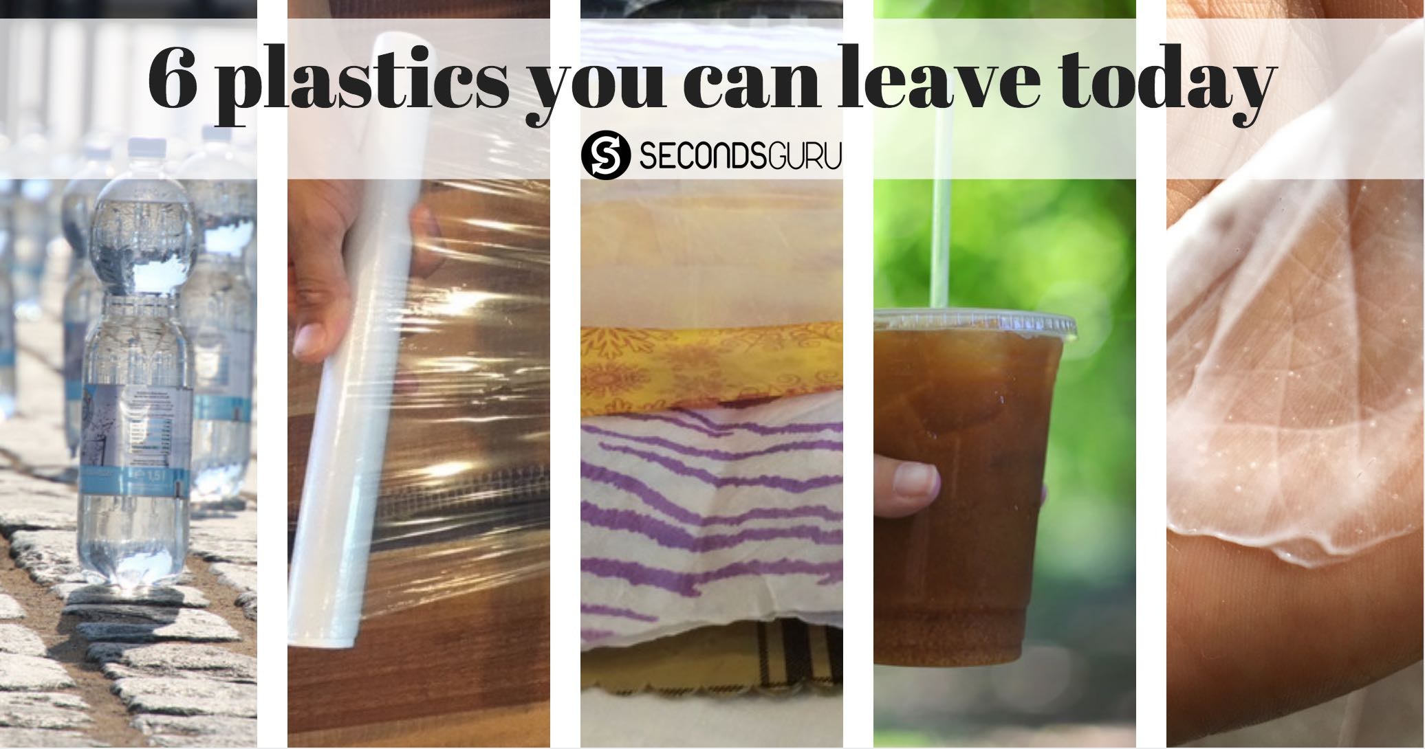 6 disposable plastics you can leave easily
