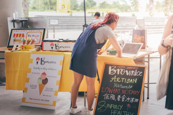 browin rice ice cream earthfest singapore