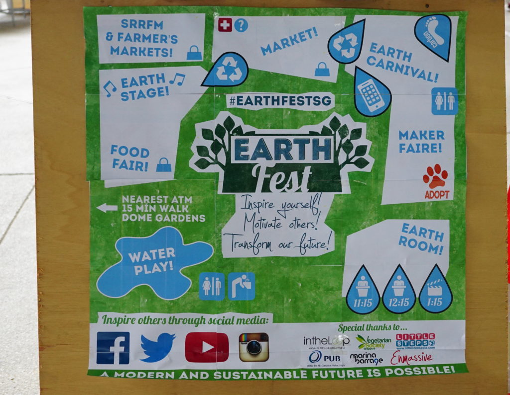earthfest what its about singapore