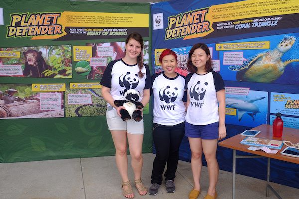 education and entertainment at earthfest singapore