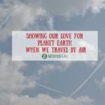 carbon footprint carbon credits offset air travel