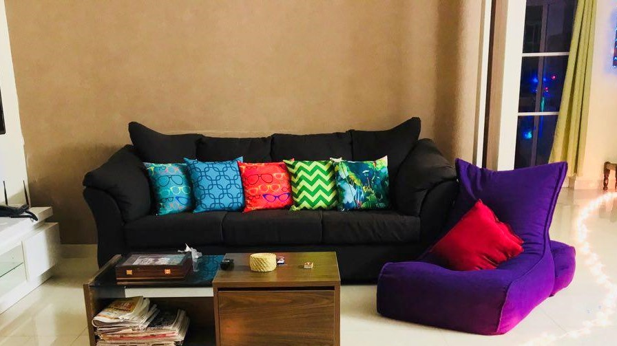 living room eco friendly furniture beanbag singapore