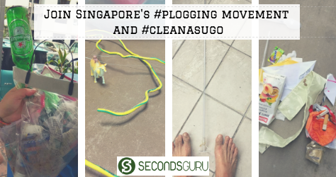plogging in singapore clean as you go secondsguru
