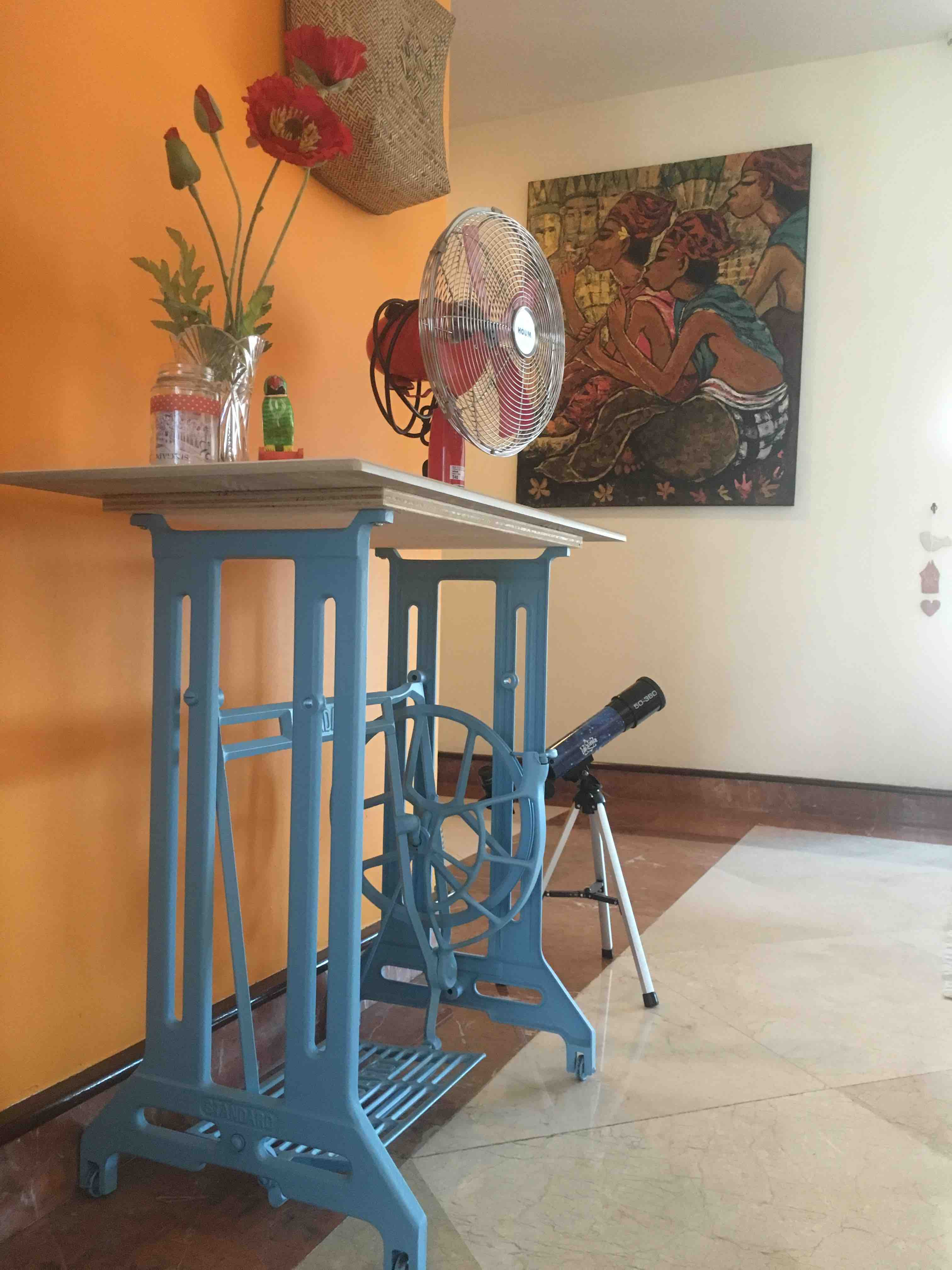 upcycled Singre sewing machine