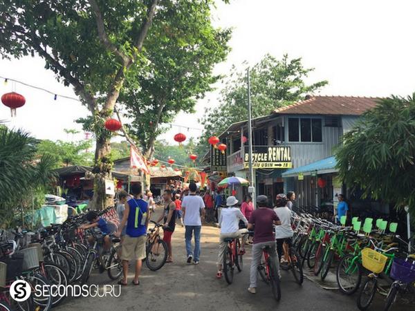pulau ubin pesta ubin singapore biking around town