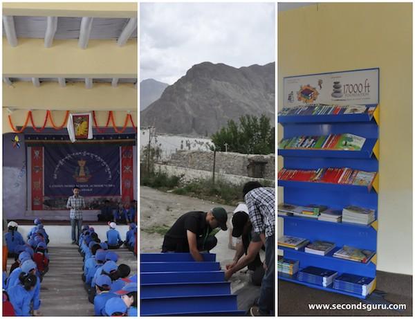 volunteering in ladakh eco travel