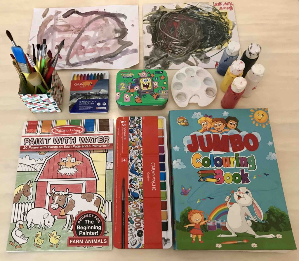 device free activity for kids Colouring books