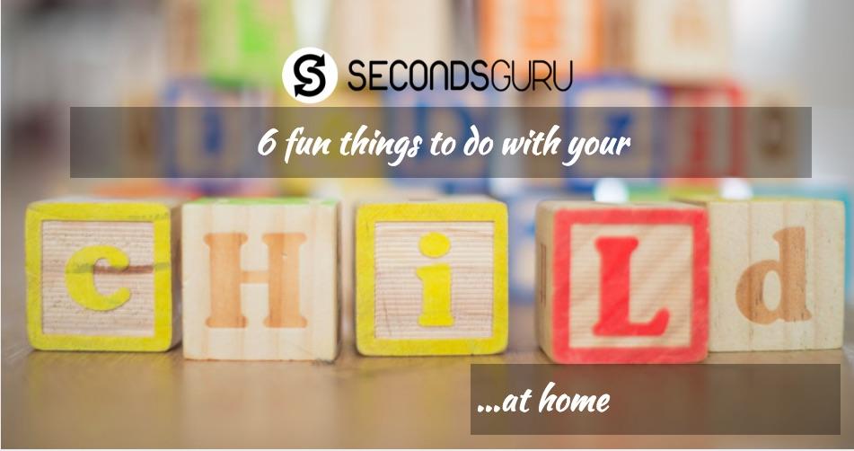 fun indoor activity with kids children