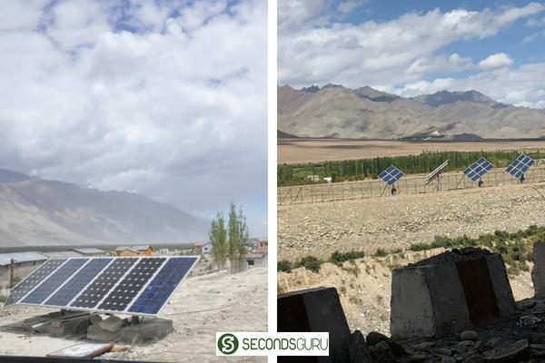 solar renewable energy in ladakh