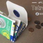 tetra pak upcycle milk carton