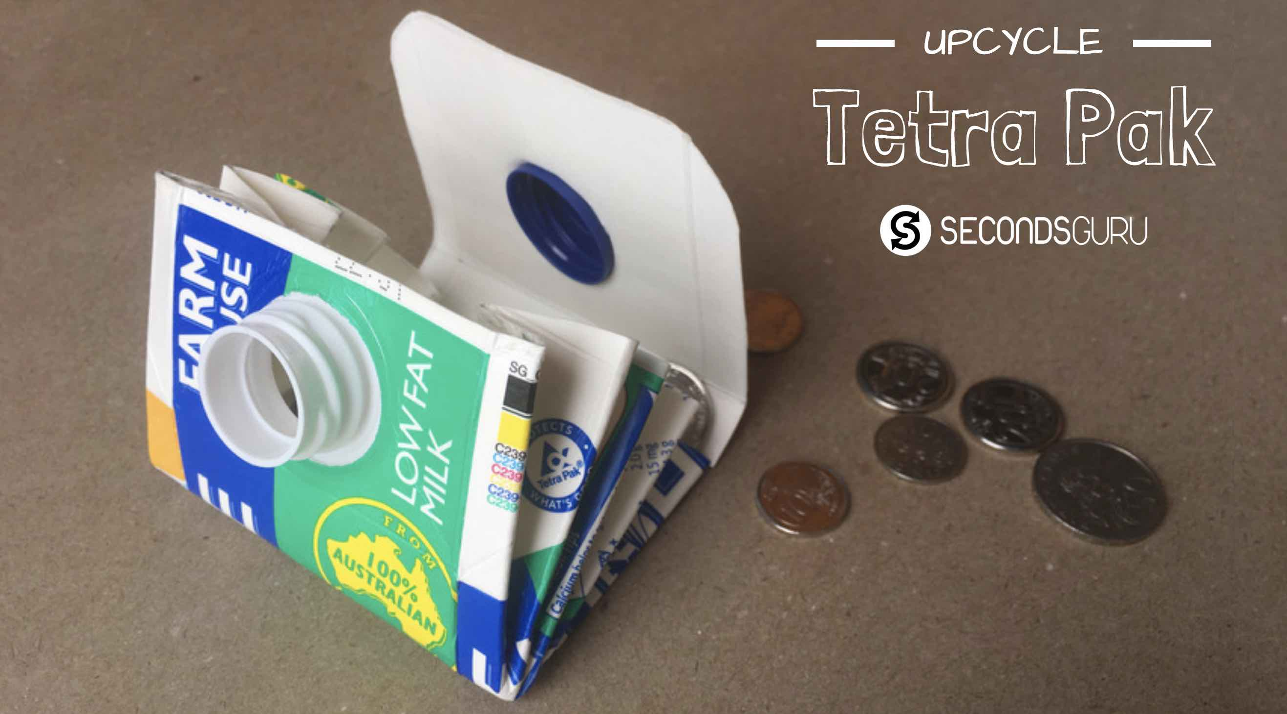 tetra pak upcycle milk carton