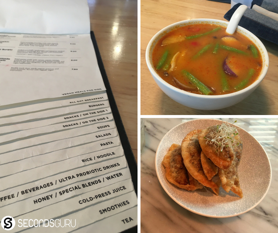 Vegetarian restaurants you must try out in Singapore! Featured here: Real Food