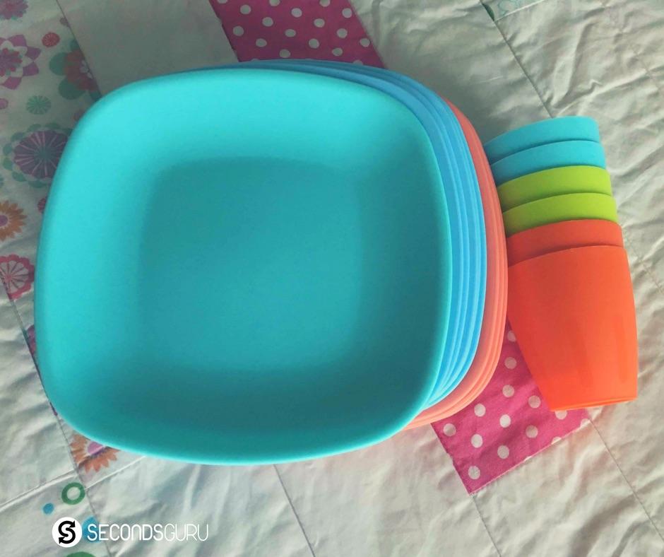 reusable plates