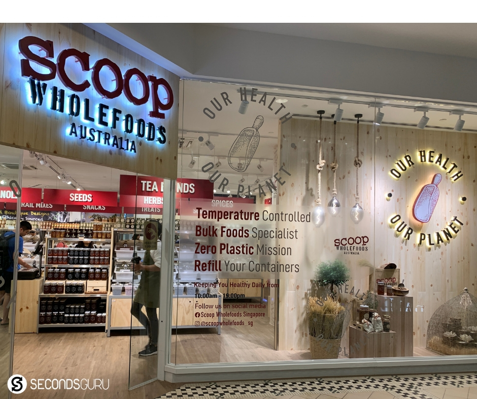 unpackaged foods at Scoop Wholefoods Singapore