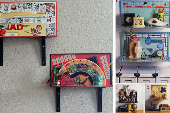 board games board diy repurpose upcycle