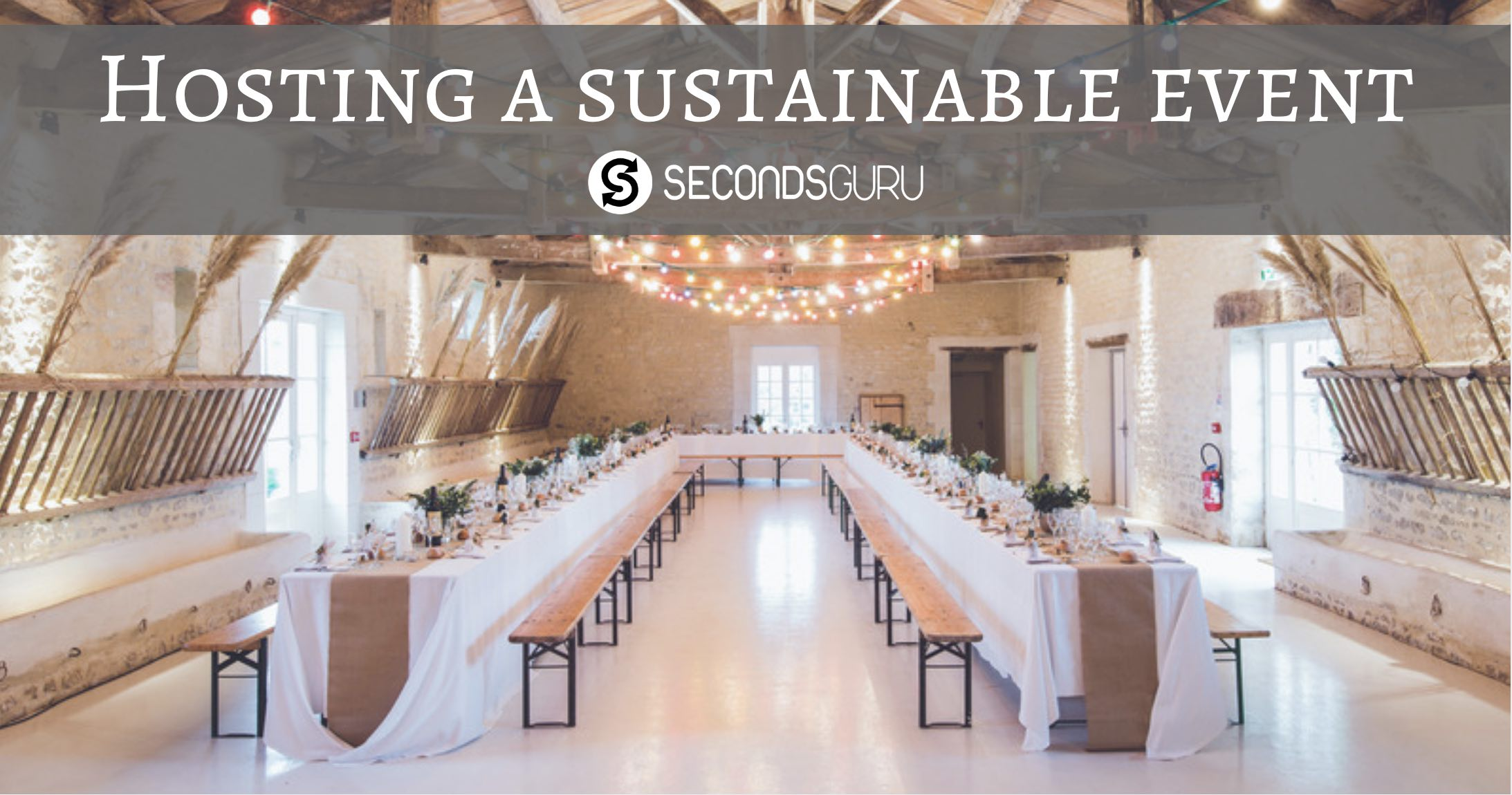 host a sustainable event