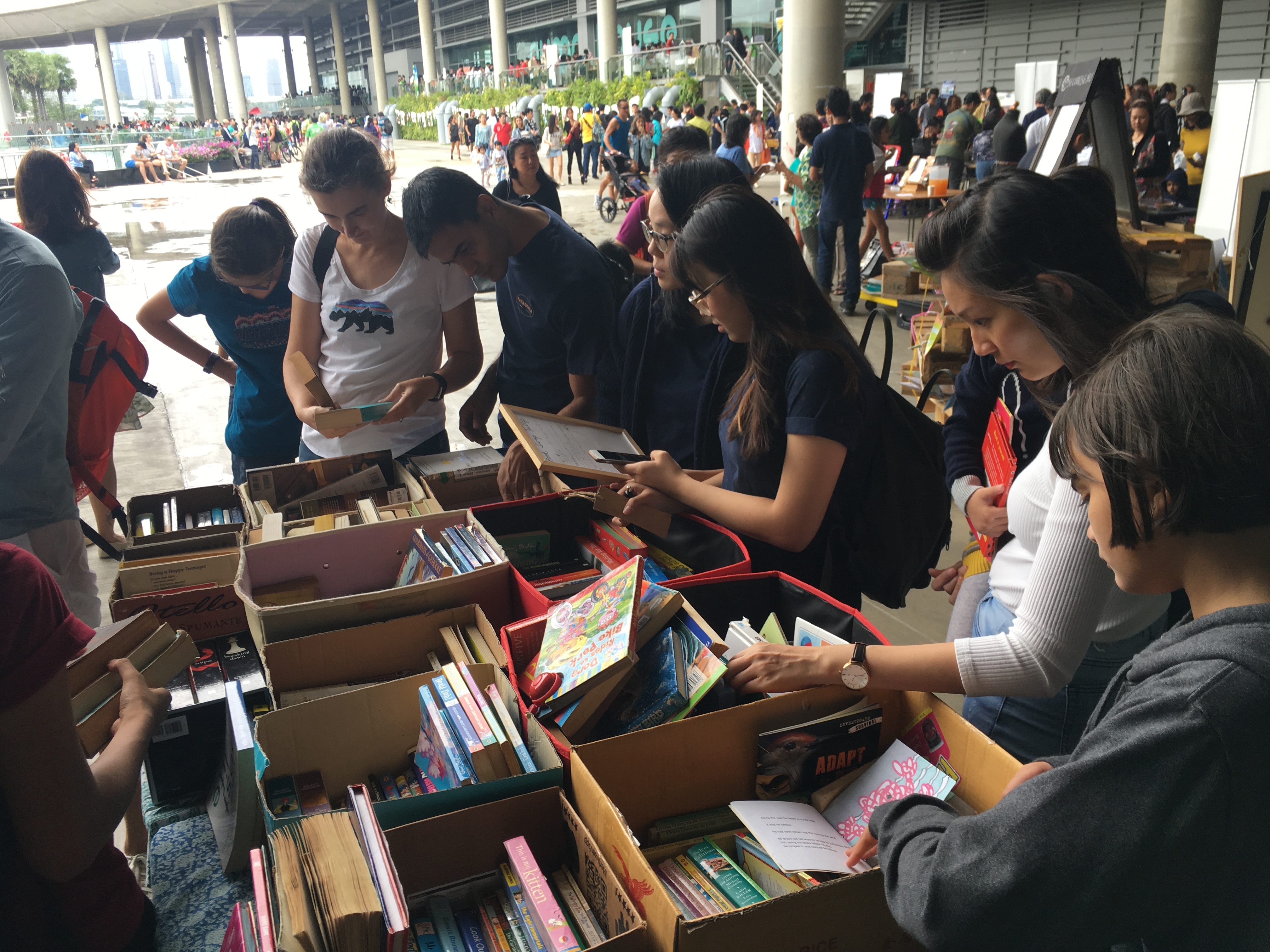 BookSwap at EarthFest 2019