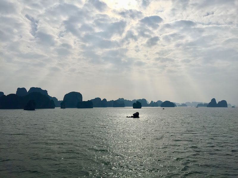 Halong Bay vietnam indochina junk