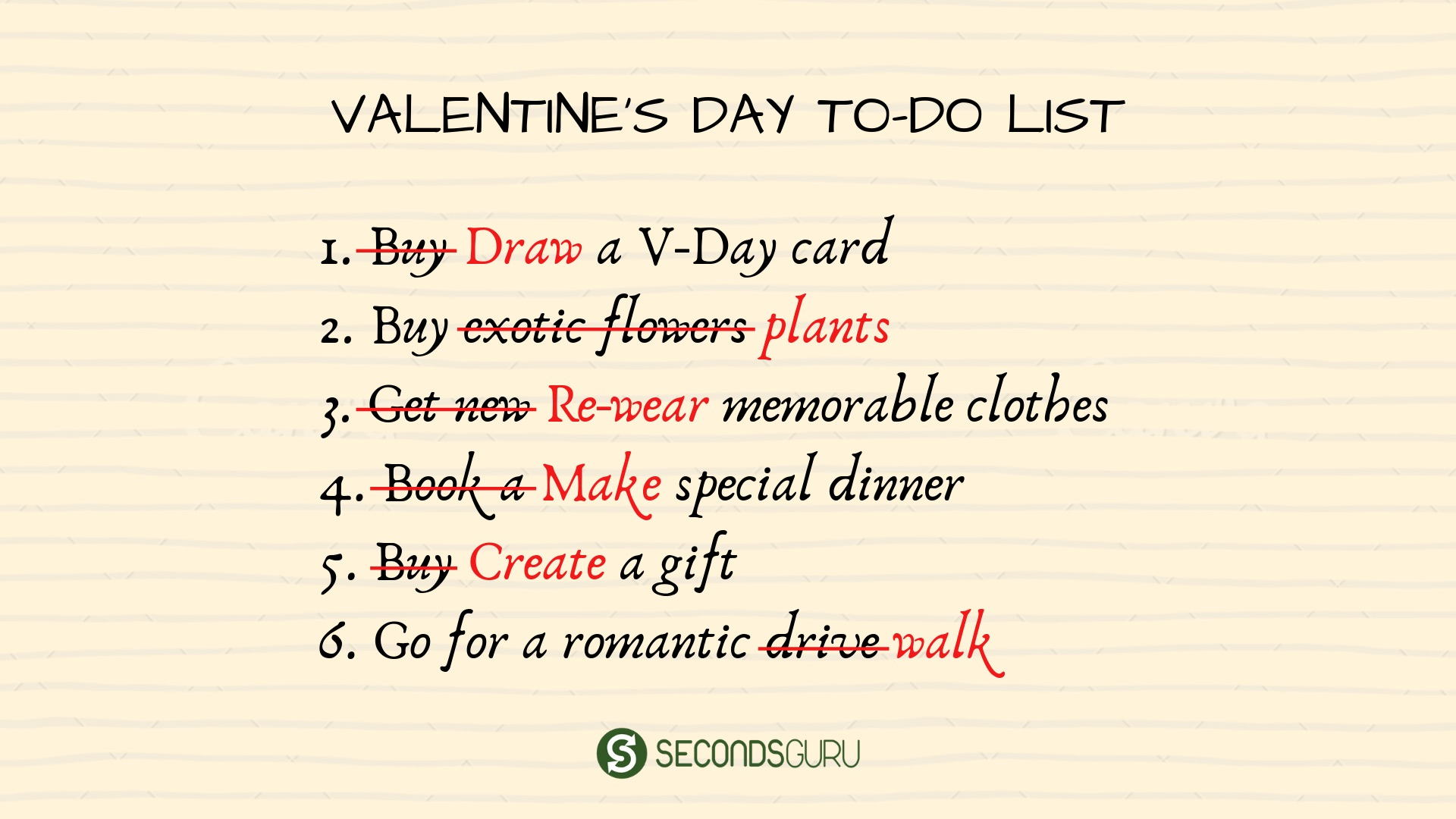 ideas for a special Valentine's day