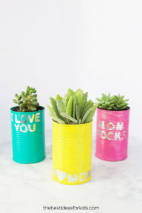Tin Can Planters