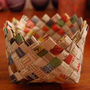 Newspaper Basket