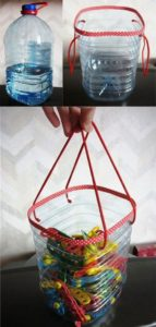 Plastic Bottle Bag with Handles