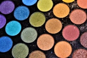 Eco Makeup Eye shadows pallette