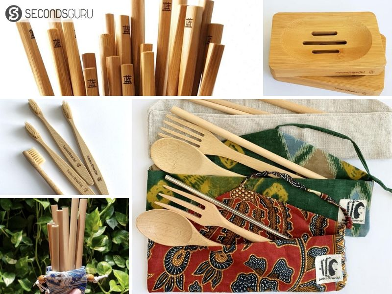 Bamboo products available in the market