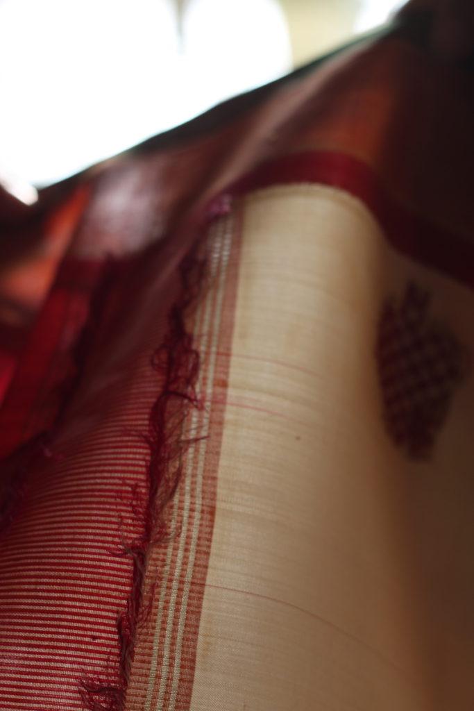 repurpose recycle check sari saree shape and size