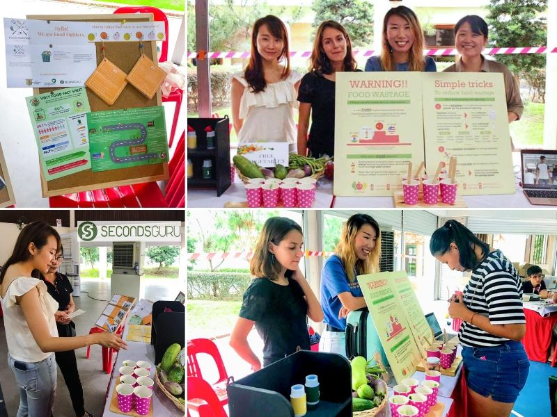 Food Fighters SG creating awareness