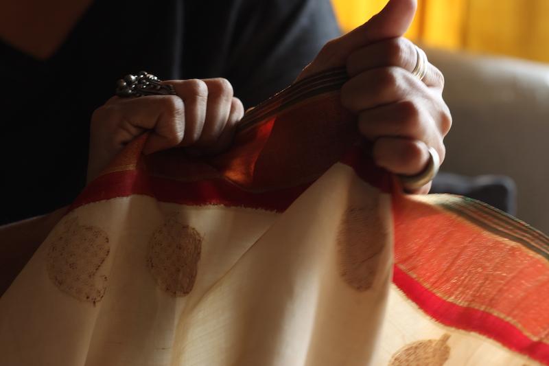 repurpose recycle old saree sari