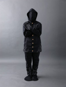 Eco friendly Infinity burial suit by Coeio