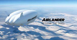 Airlander 10 zero carbon aircraft