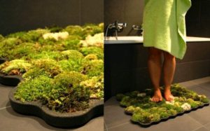 Moss bath mats by yanko designs