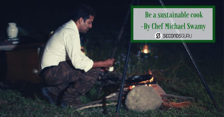 sustainable kitchen food cooking chef Michael Swamy