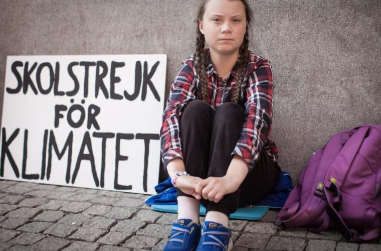 Greta Thunberg School strike 4 Climate