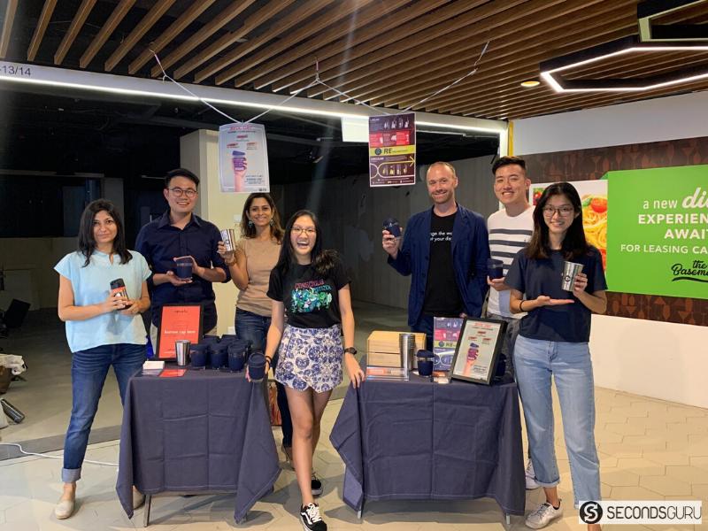 Secondsguru Zerowaste bootcamp Refeel byoc campaign hang leong singapore