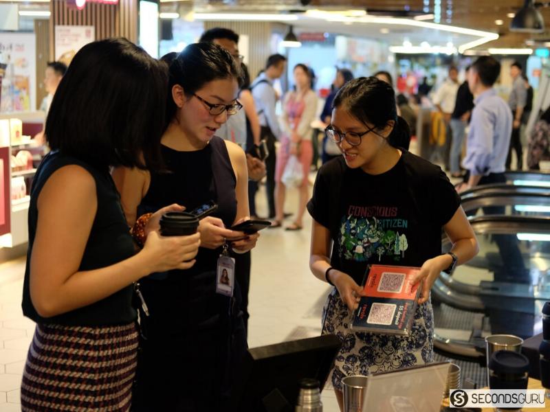 Secondsguru Zerowaste bootcamp Refeel byoc campaign in cbd singapore