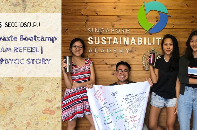 byoc singapore refeel secondsguru zero waste bootcamp