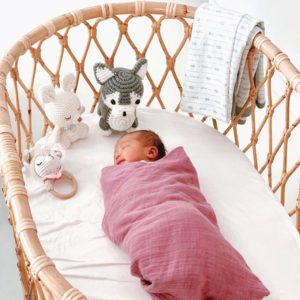 eco gift for kids swaddle set