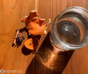 orange infused vinegar