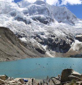 glacial lake Palcacocha
