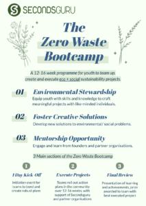 Zero Wate Bootcamp Secondsguru youth environment community projects