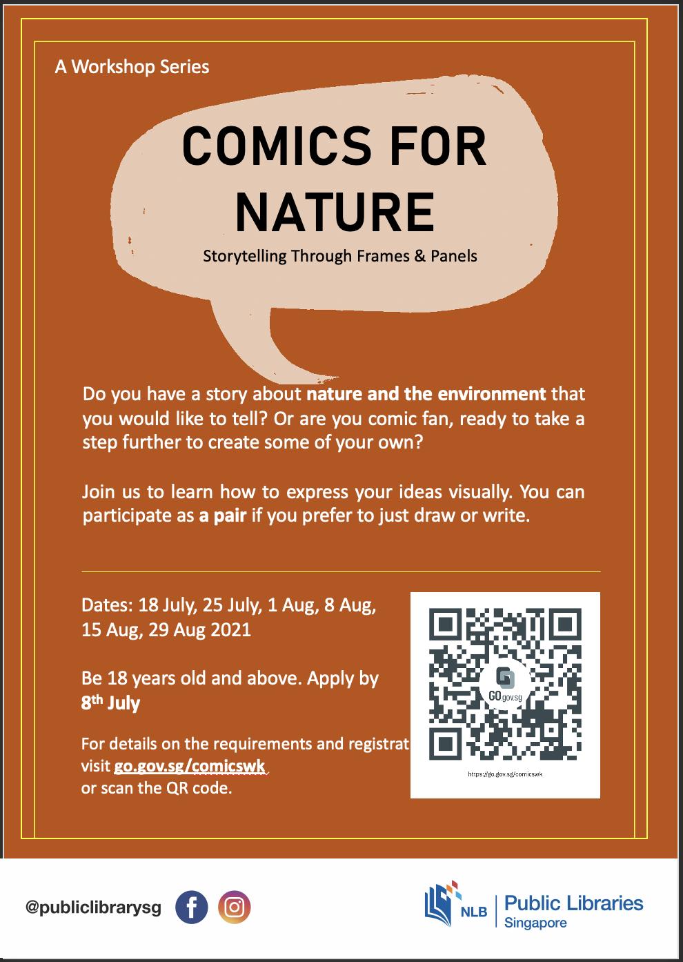 comics for nature NLB